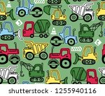 seamless pattern vector of...   Shutterstock .eps vector #1255940116