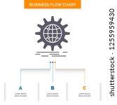international  business  globe  ... | Shutterstock .eps vector #1255959430