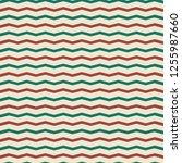 seamless christmas pattern in...   Shutterstock .eps vector #1255987660