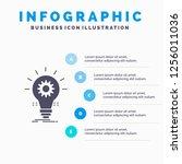 bulb  develop  idea  innovation ... | Shutterstock .eps vector #1256011036