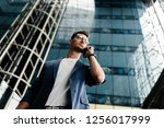 professional architect dressed... | Shutterstock . vector #1256017999