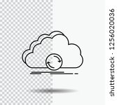 cloud  syncing  sync  data ... | Shutterstock .eps vector #1256020036