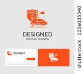 business logo template for car  ... | Shutterstock .eps vector #1256035540