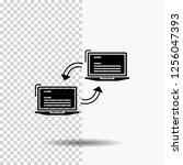 computer  connection  link ... | Shutterstock .eps vector #1256047393