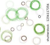 light green  red vector... | Shutterstock .eps vector #1256117356