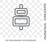 horizontal alignment icon....