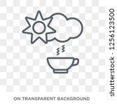 daytime icon. daytime design... | Shutterstock .eps vector #1256123500