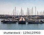 boats in ashkelon marina | Shutterstock . vector #1256125903