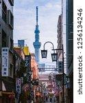 tokyo japan   jan 23  2013  ...   Shutterstock . vector #1256134246