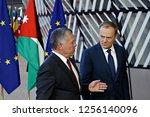 brussels  belgium. 12th dec....   Shutterstock . vector #1256140096