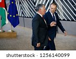 brussels  belgium. 12th dec....   Shutterstock . vector #1256140099