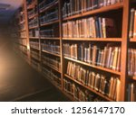 library and books blur... | Shutterstock . vector #1256147170