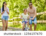 family  parenthood  leisure and ... | Shutterstock . vector #1256157670