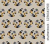 abstract geometry... | Shutterstock . vector #1256161933