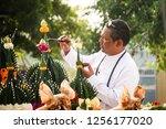 bangkok  thailand   11 09 2018  ... | Shutterstock . vector #1256177020