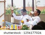 bangkok  thailand   11 09 2018  ... | Shutterstock . vector #1256177026