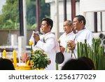 bangkok  thailand   11 09 2018  ... | Shutterstock . vector #1256177029