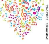 Vector Musical Notes Vector...