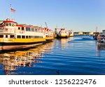 portland  maine united states   ... | Shutterstock . vector #1256222476