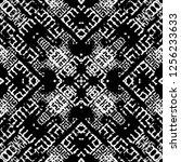 seamless pattern handkerchief...   Shutterstock . vector #1256233633