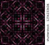 seamless pattern handkerchief...   Shutterstock . vector #1256233636