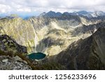 hight tatra mountains view in... | Shutterstock . vector #1256233696