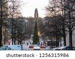 lahti  finland   24 november... | Shutterstock . vector #1256315986