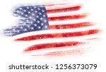 mosaic heart tiles painting of...   Shutterstock . vector #1256373079
