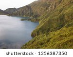 panoramic view point... | Shutterstock . vector #1256387350