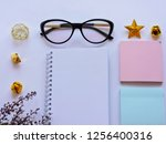 home office workspace mockup... | Shutterstock . vector #1256400316