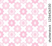 easter  spring seamless repeat... | Shutterstock .eps vector #1256426530