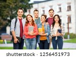 education  high school and... | Shutterstock . vector #1256451973