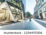 beautiful modern buildings of... | Shutterstock . vector #1256455306