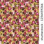 lovely love little tiny small... | Shutterstock . vector #1256459266
