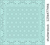 template print for fabric.... | Shutterstock .eps vector #1256477446