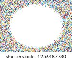festival pattern with color... | Shutterstock .eps vector #1256487730
