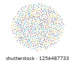 festival pattern with color... | Shutterstock .eps vector #1256487733