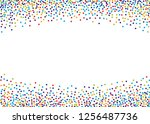 festival pattern with color... | Shutterstock .eps vector #1256487736