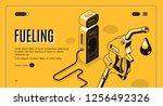 vector 3d isometric site... | Shutterstock .eps vector #1256492326