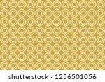 raster oriental ornament.... | Shutterstock . vector #1256501056