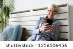 senior woman using digital...   Shutterstock . vector #1256506456