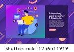 illustration flat design... | Shutterstock .eps vector #1256511919