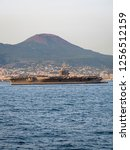 CVN 69 USS Dwight D. Eisenhower, Nimitz-class Aircraft Carrier, Port of Naples, Naples, Gulf of Naples, Campania, Italy