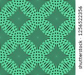 vector green circle seamless... | Shutterstock .eps vector #1256522356