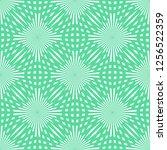 vector green circle seamless... | Shutterstock .eps vector #1256522359