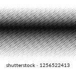 halftone background. fade... | Shutterstock .eps vector #1256522413
