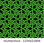 modern stylish texture.... | Shutterstock .eps vector #1256621806