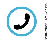 telephone icon symbol. premium...