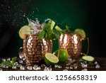 Famous moscow mule alcoholic...