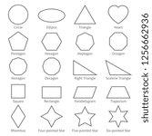 Basic Geometric Outline Flat...